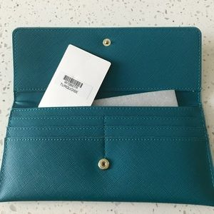 Handbags - Turquoise Wallet